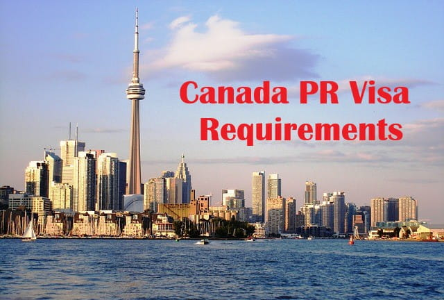 Canada PR Visa Requirements from India